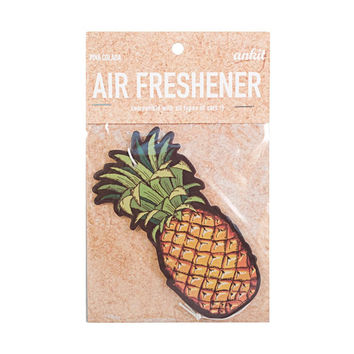Pineapple Yellow Car Air Freshener