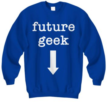 Sweatshirt - Future Geek (WL)