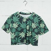 3D Print Summer Style Casual  Tee