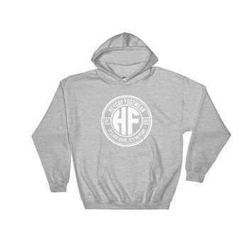 Grey Pullover Heyday Seal Hooded Sweatshirt
