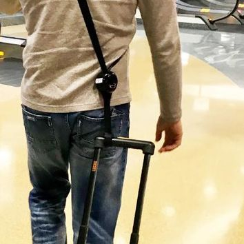 RetraStrap Hands Free your carry-on luggage - Anti theft.