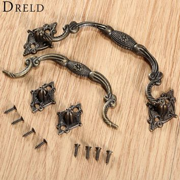 1Pc Antique Furniture Handles Cabinet Knobs and Handles Drawer Cabinet Door Pull Cupboard Handle Kitchen Knob Furniture Fittings