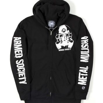 Metal Mulisha ARMED SOCIETY SURVIVAL HOODIE from Official Metal Mulisha Store