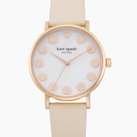 rose gold dot strap metro