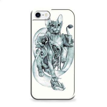 steampunk tattoo cat iPhone 6 | iPhone 6S case