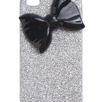 Glitter Bow Phone Case