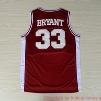 Kobe Bryant 33 Lower Merion High School 1996 NBA Basketball Jersey Kobe Bryant