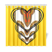 "69""x72"" Shower Curtains Dashiki Love"