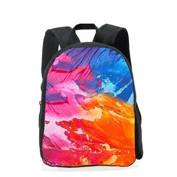 School Backpack New Children School Bags 3D Galaxy Space Star Prints Book Shoulder Bags For Kids Girls Boys Small Schoolbags Mochila AT_48_3