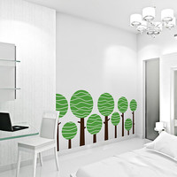 Large Lolly Tree Wall Decal Great for by WallumsWallDecals