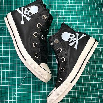 Mastermind Japan X Converse All Star 100 Hi Chuck Taylor Style 2 Sneakers - Best Online Sale