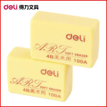 Professional art Soft 4B 100A Drawing Art Writing Rubber Pencil Eraser Clearner set School Office Supply Stationery OWS001