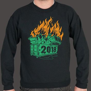 Dumpster Fires 2018 Sweater (Mens)