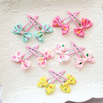 Butterfly clamp hair clip