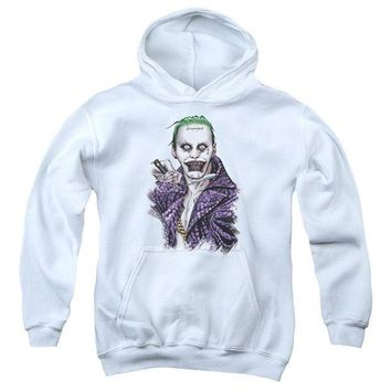 ac spbest Suicide Squad - Blade Youth Pull Over Hoodie