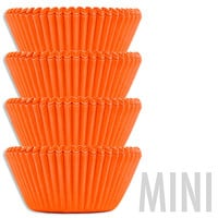 Mini Electric Orange Baking Cups