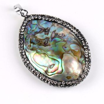 New Zealand Natural Abalone Shell Necklace