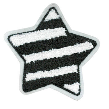 Chenille Star Patch 12cm