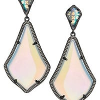 Kendra Scott Alexis Earrings- Iridescent Oppalite
