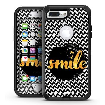 Smile Sketch on Foil - iPhone 7 Plus/8 Plus OtterBox Case & Skin Kits