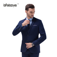 Men's Slim Fit  Bespoke Tailor Made Custom Suit