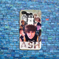 Ashton Irwin iPhone Case Cool Collage Phone Cover 5 SOS iPhone Case Five Seconds of Summer iPhone 4 iPhone 5 iPhone 4s iPhone 5s iPhone 5c