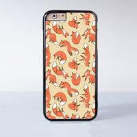 Fox Plastic Case Cover for Apple iPhone 6 6 Plus 4 4s 5 5s 5c