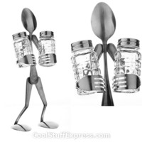 Forked Up People Salt & Pepper Shakers