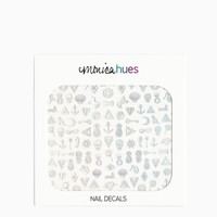 Holographic Nail Decals