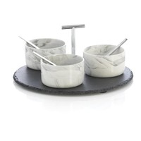 Granville Condiment Set