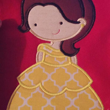 Beauty & The Beast Belle T Shirt Available from 12m to 14/16