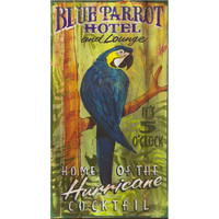 Blue Parrot Hotel & Lounge – Vintage Sign