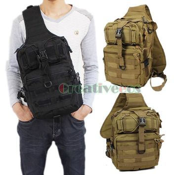 Men Bag 600D Military Chest Waterproof Messenger Handbags