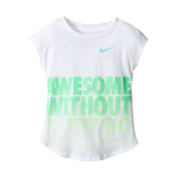 Nike Kids Awesome Without Trying Modern Short Sleeve Tee (Toddler)
