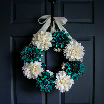 Wreaths - Door Wreaths Year Round Wreath- Door Decor - Porch Decor - Etsy Wreaths - Front Door Wreaths
