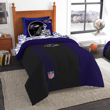 Baltimore Ravens NFL Team Bed in a Bag (Twin)
