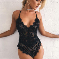 Hot Deal On Sale Cute Sexy Uniform Lace Set Exotic Lingerie [11105676500]