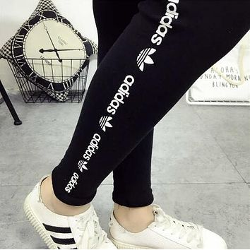 ADIDAS Sport Fashion Tight Pants Trousers Sweatpants