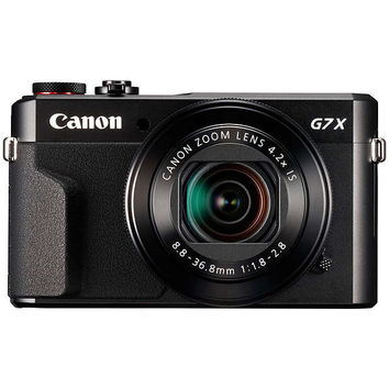 "Canon PowerShot G7 X Mark II Digital Camera, HD 1080p, 20MP, 4.2X Optical Zoom, DIGIC 7 Processor, NFC, Wi-Fi, 3"" LCD Screen with Case & Memory Card Kit at John Lewis"