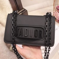 """JADIOR"" Fashion Women Leather Shoulder Bag Handbag Crossbody Satchel Black I-BCZ(CJZX)"