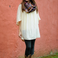 The Angelic Tunic, Cream