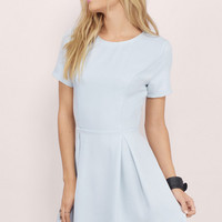 Paloma Backless Skater Dress $46