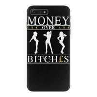 money over bitches graphic iPhone 7 Plus Case