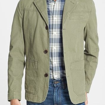Men's Timberland Coated Canvas Travel Jacket