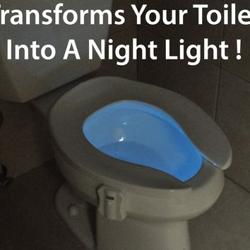 GlowBowl - Motion Activated Night Light For Your Toilet