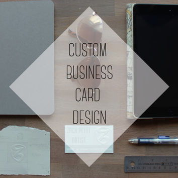Custom Made Business Card Design, Office Supplies, Made For Your Business