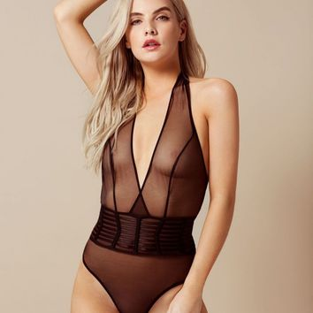 Kelsie Black Body | By Agent Provocateur