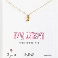 Dogeared 'State of Mind - New Jersey' Pendant Necklace | Nordstrom