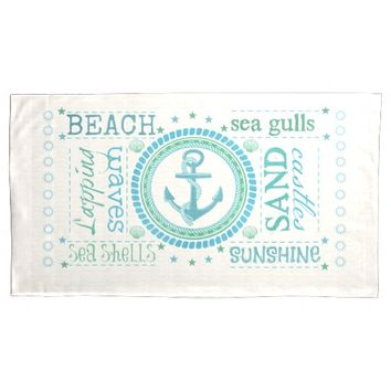 Summer Beach Nautical King Size Pillowcases Pillowcase
