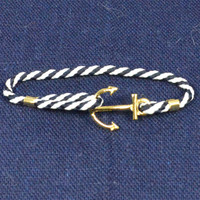 The Shipster Anchor Rope Band Bracelet